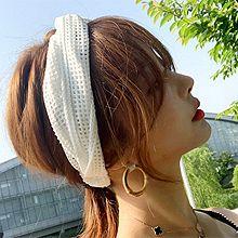 50731发箍发带, 平面/立体几何图形交叉 发带 网格 镂空 纯色