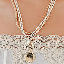 50773锁链形, 绳子形, 多层链, 平面/立体几何图形圆形 正方形 2件套