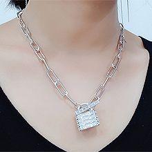 50828单层链, 锁具, 平面/立体几何图形锁