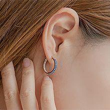 50944耳钉式, 耳圈耳扣, 平面/立体几何图形圆环
