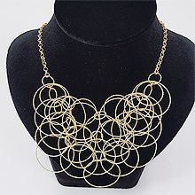50970锁链形, 单层链, 平面/立体几何图形圆环