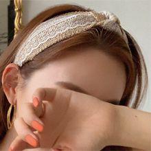 50991发箍发带发箍 打结 蕾丝 编织