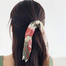51006发圈发绳, 蝴蝶结, 植物珠子 圆形 蝴蝶结 花