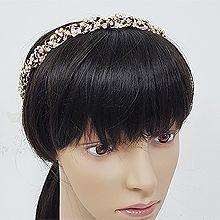 51011发箍发带, 平面/立体几何图形珠子 发箍