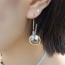 51042耳钉式C形 珠子 圆环