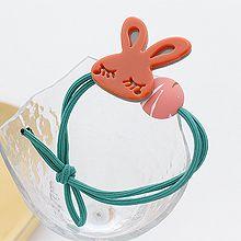 51040发圈发绳, 蝴蝶结, 植物兔子 蝴蝶结 圆形