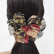 51083边夹顶夹, 蝴蝶结, 植物, 平面/立体几何图形花 蝴蝶结 弹簧夹