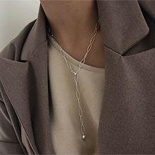51252锁链形, 单层链椭圆形 整件925银