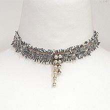 51258绳子形, 单层链流苏 珠子 珍珠