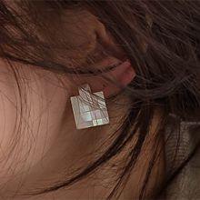 51264耳钉式长方形 正方形