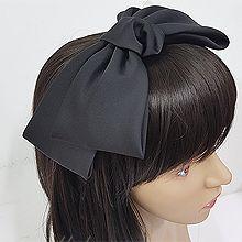 51165发箍发带, 蝴蝶结, 平面/立体几何图形发箍 蝴蝶结 纯色