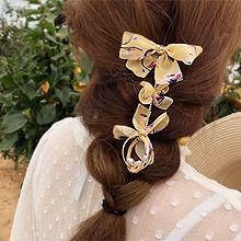 51167发圈发绳, 发簪, 蝴蝶结, 植物蝴蝶结 花