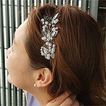 51177发箍发带, 动物, 平面/立体几何图形珠子 蝴蝶 发箍