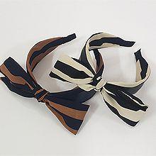 51268发箍发带, 蝴蝶结发箍 蝴蝶结 条纹