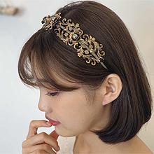 51327发箍发带, 植物花 珠子 发箍