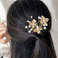 51334发梳插梳, 植物珍珠 珠子 花