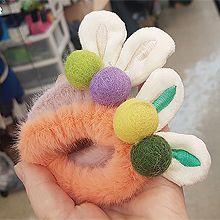 51470发圈发绳毛球 毛毛 兔耳朵