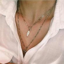 51378锁链形, 单层链, 十字架巴洛克珍珠 圆环 十字架