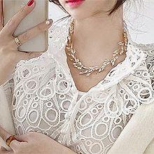 52416珠仔链, 单层链珠子 珍珠 多边形