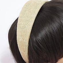 54233发箍发带发箍 纯色 编织 麻花
