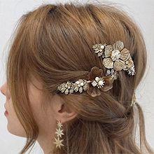 54235��A��A, 植物花 �~子 珍珠 珠子 ��簧�A