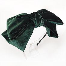 54271发箍发带, 蝴蝶结蝴蝶结 发箍 纯色 绒布