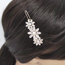 54272边夹顶夹, 植物花 珍珠 珠子 一字扣