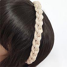 54338发箍发带发箍 麻花 编织 纯色