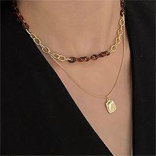 54261锁链形, 多层链长方形 锁链 两件套