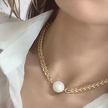 54296锁链形, 单层链珠子 珍珠 椭圆形
