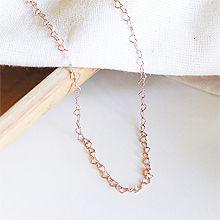 54357单层链, 其他分类特征, 心形心形 整件925银