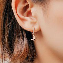 54381耳圈耳扣蝴蝶