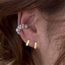 54509耳夹珍珠 珠子 耳夹 C形