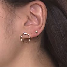54522耳钉式十件套 珠子 珍珠 圆环