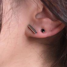 54523耳钉式圆柱形 珍珠 珠子 长方形 十二件套