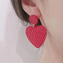 54573耳钉式, 心形圆形 心形 凹凸不平