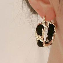 54575耳圈耳扣椭圆形 锁链