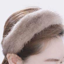 54525发箍发带发箍 毛毛 纯色
