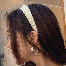 54590发箍发带发箍 纯色 交叉 方格