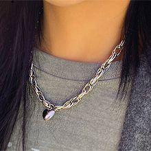 54591锁链形, 单层链, 心形心形