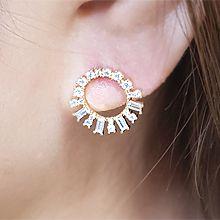54604耳钉式圆环 长方形