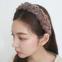 54612发箍发带麻花 编织 发箍