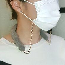 54614毛毛 口罩绳 锁链 长方形