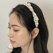52612发箍发带珍珠 珠子 花 发箍