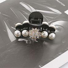 52676爪夹, 植物, 平面/立体几何图形花 圆形 珍珠