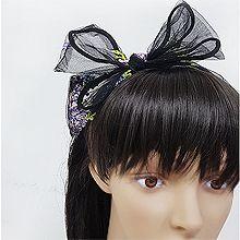 52709发箍发带, 蝴蝶结, 平面/立体几何图形蝴蝶结 花 叶子