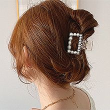 52806爪夹, 平面/立体几何图形, 其他形状长方形 圆形 珍珠