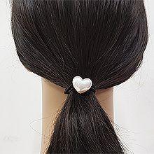 52808发圈发绳, 心形, 平面/立体几何图形心形 发圈