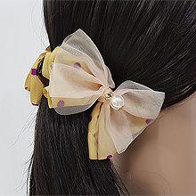 52850蝴蝶结, 平面/立体几何图形蝴蝶结 圆形 珍珠