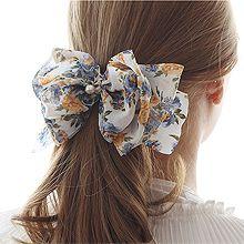 52873发圈发绳, 蝴蝶结, 植物, 平面/立体几何图形蝴蝶结 花 叶子 弹簧夹